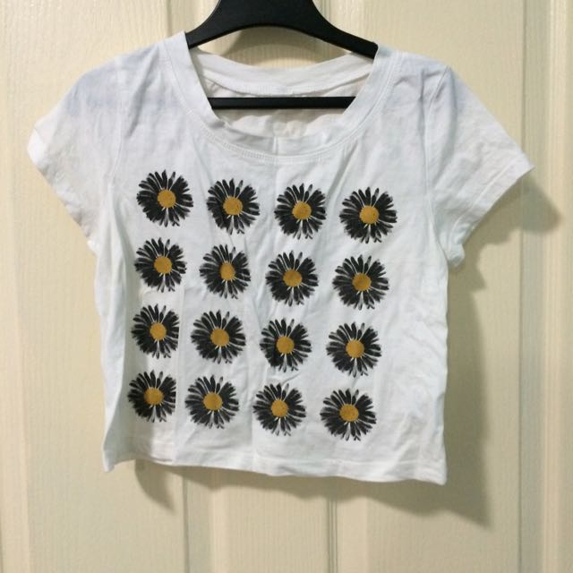 Cropped Flower Top