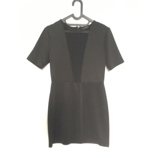 Demi Lovato Inspired Black Dress