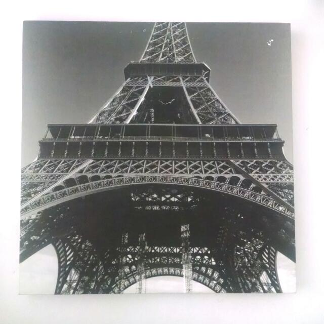 Eiffel Tower Canvas Wall Hanging
