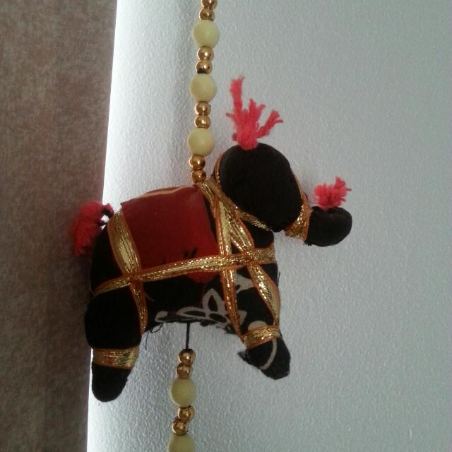 Elephant Bird Garland With Bell