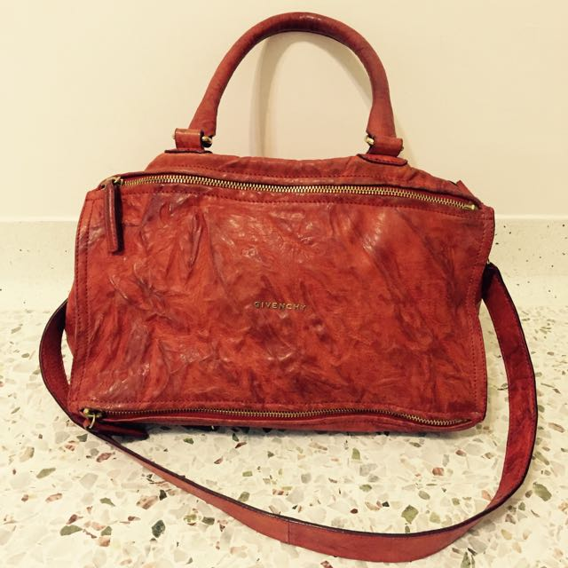 Givenchy Pandora Large In Washed Leather