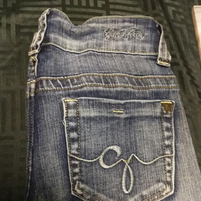 Guess Daredevil Boot cut Jeans Size 26 (Au 8)