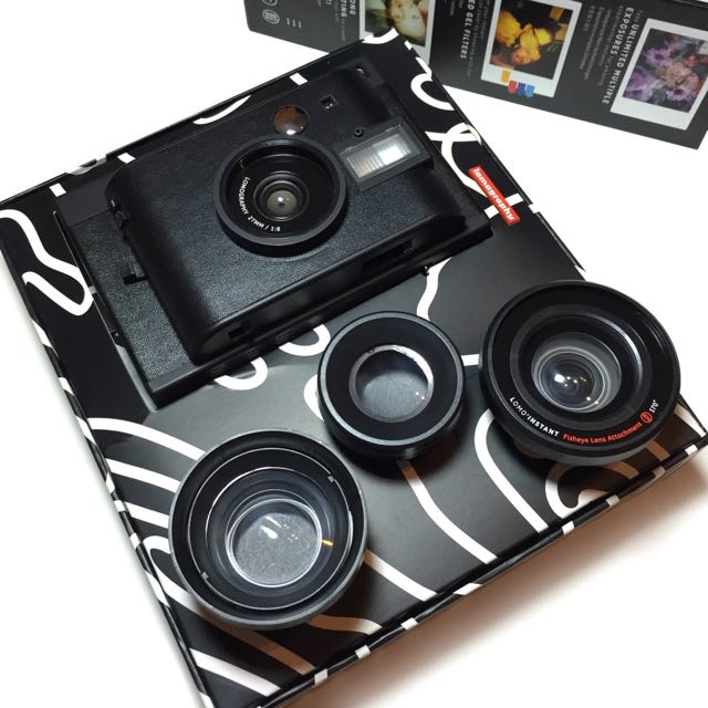 Lomo'Instant Black + 3 款鏡頭套裝【原價4980元/使用一次/近全新】