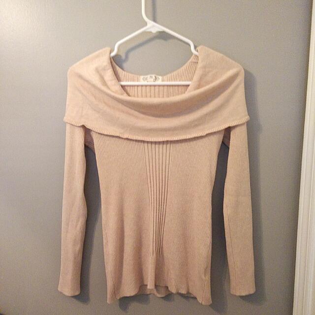 Long Sleeve Cowl Sweater