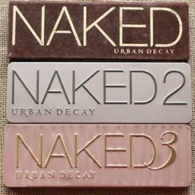 Naked 1 2 And 3 Palettes