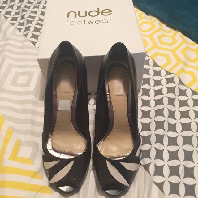 Nude Footwear Herls Size 38