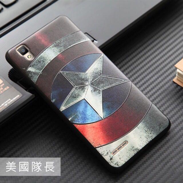 OPPO F1 立體浮雕 手機保護套 矽膠軟殼