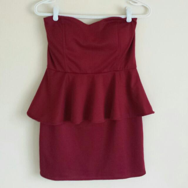 Peplum Dress (Medium)