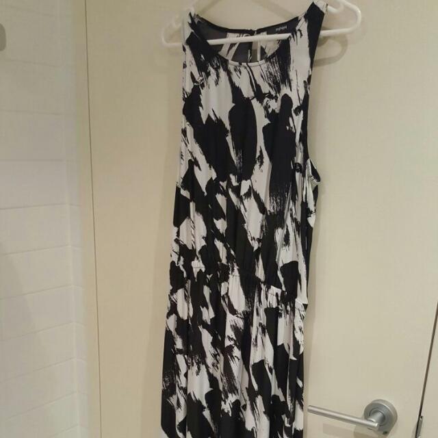 Piper Black And White Maxi Dress