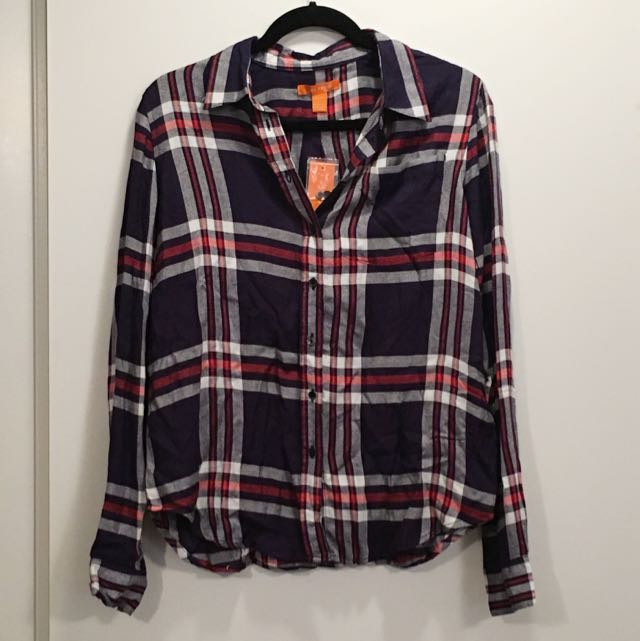 Brand New Plaid Shirt