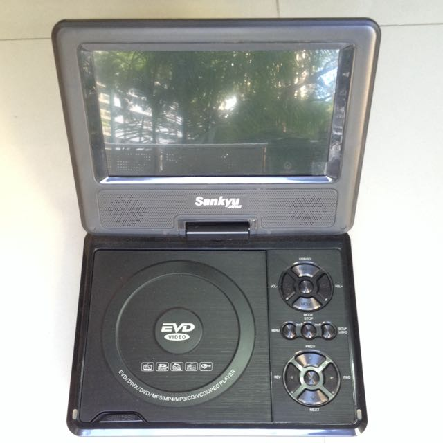 Portable Tvdvd Player With 78 Lcd Monitor Electronics On Carousell