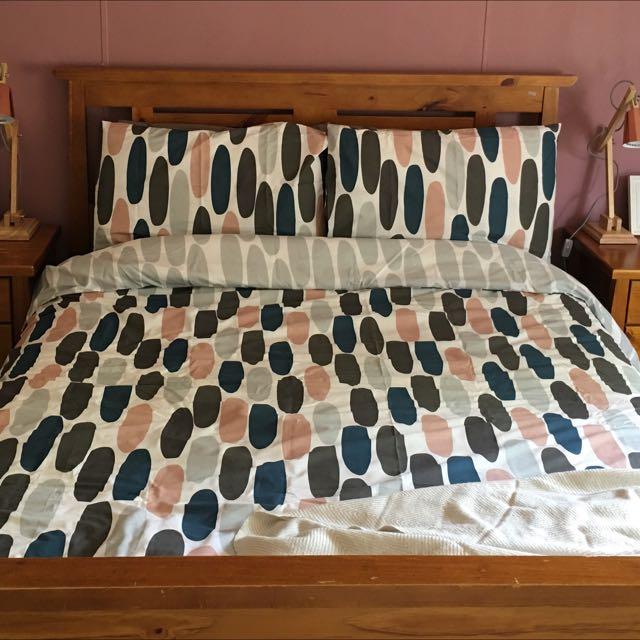 Quilt Cover And Pillow Case Set Queen