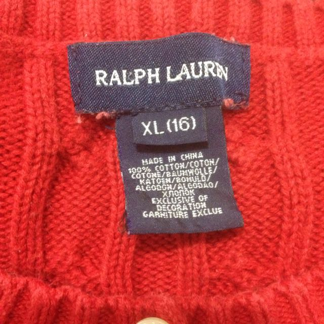 Ralph Lauren- Red Jumper