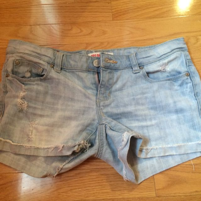 Size 5 Denim Garage Shorts