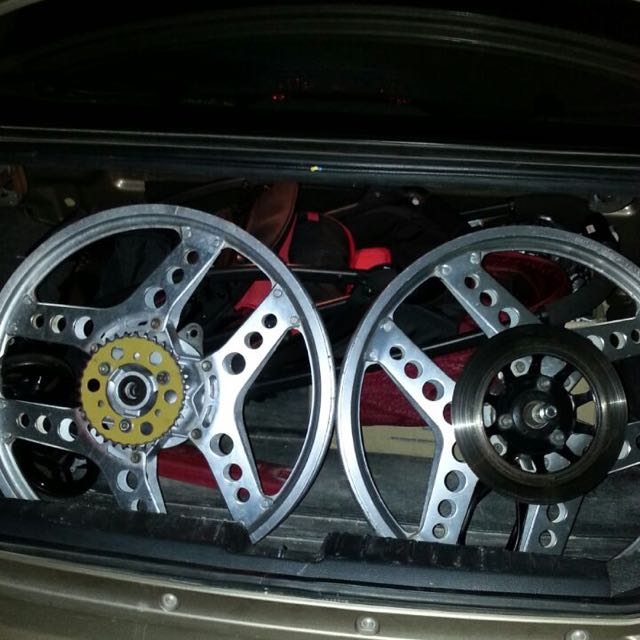 Alloy wheel rim 19 inch 5x120 roda cekung velg berbicara ...