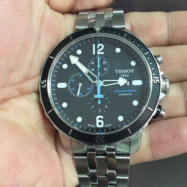 "Tissot ""Seastar 1000"" Automatic Chronograph T066.427.11.057.00"
