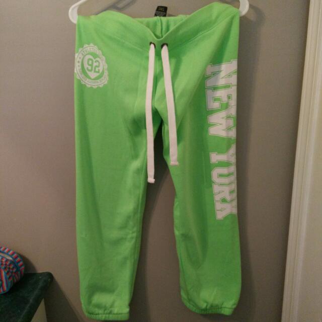 Urban Behaviour Green Sweatpants
