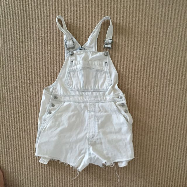 Urban outfitters White Overalls