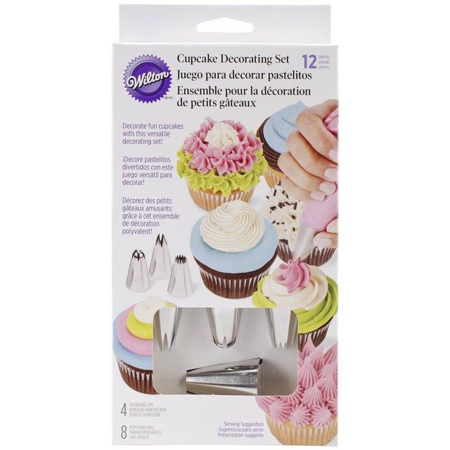 Wilton Cupcake Decorating Set 12pcs