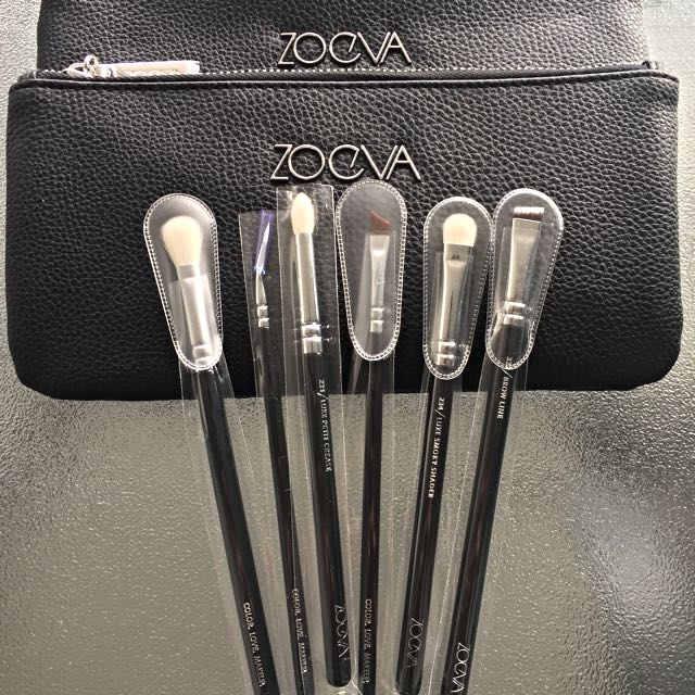 ZOEVA 6 Piece Eye Makeup Brushes - Authentic