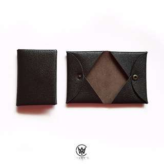 Handmade Genuine Full Grain Leather Card Holder | Handcrafted | Handstitched | D43