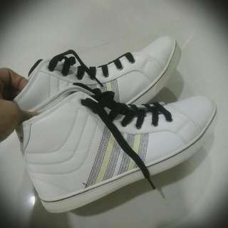 Selling High Cut White Shoes