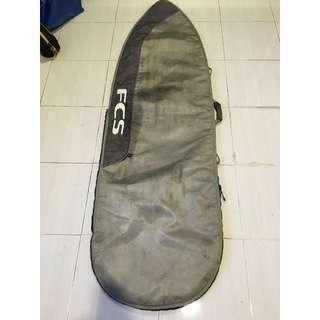 """FCS Dayrunner Surf Board Surfboard Bag 6'7"""""""