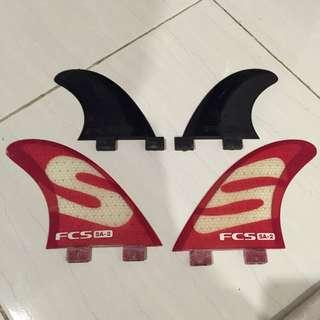 FCS Quad Fin Set