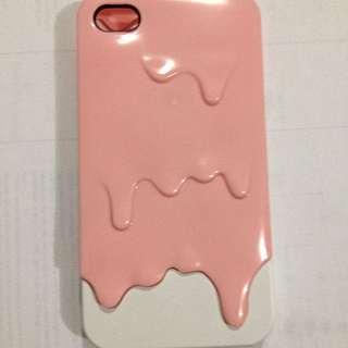 Casing Ice Cream iPhone 4