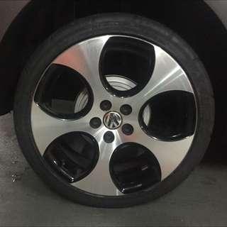 """Volkswagen Polo GTI Standard 17"""" Alloy Wheels"""
