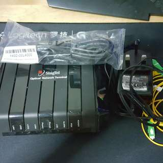 Singtel Optical Network Terminal