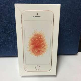 IPhone SE 玫瑰金64GB