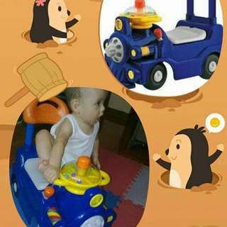 Chicco Push And Ride Train