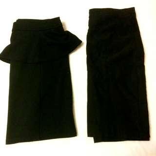 Black Pencil Skirts