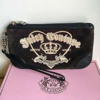 Juicy Couture strap clutch