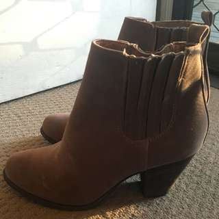 Brown Boots - Size 8