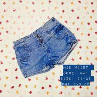 Sale! Midwaist Shorts