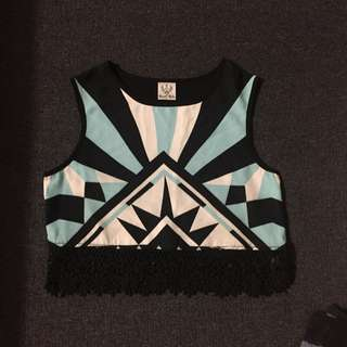 Angel Biba Crop Top