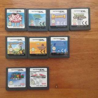 Ds Games Mario Cooking Mama Brain Training Shrek Drawn To Life Bulk