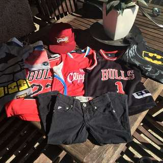 NBA QUICKSILVER BILLABONG NIKE