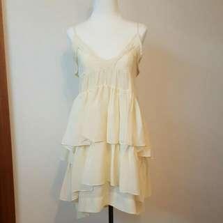 Light Yellow Dress Size 8
