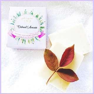 FaithHopeLove Local Vegan Skinfood Oatmeal Avocado VCO-based soap