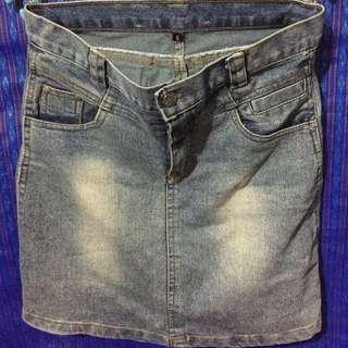 Mini Rok Jeans Size S
