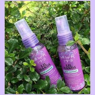 FaithHopeLove Local Vegan Skinfood Lil Hands organic hand sanitizer