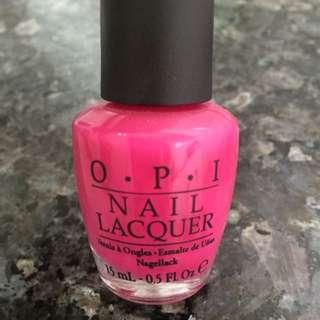 OPI Nailpolish In Pink Flamenco