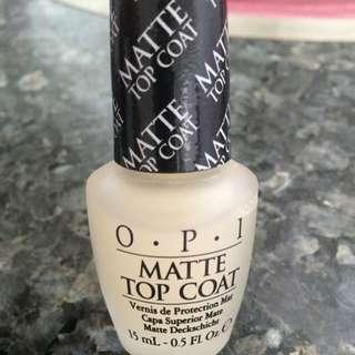 OPI Matte Topcoat