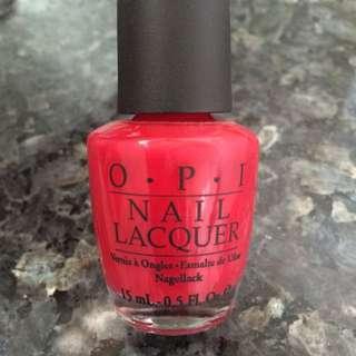 OPI Nailpolish In OPI Red