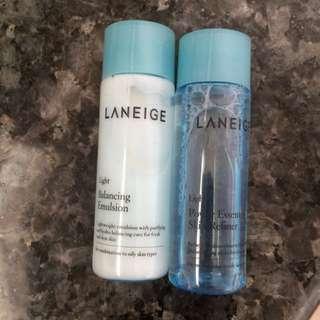 Laneige Light Emulsion + Refiner