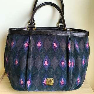 Anna Sui patterned bucket bag