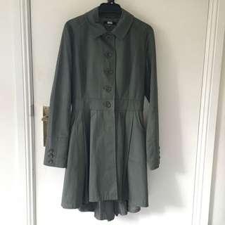 Khaki Green Coat